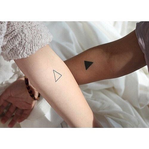 羡煞旁人的情侣纹身图片
