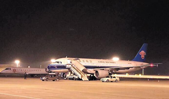 黄花机场第二跑道试飞成功 可起降世界最大客机