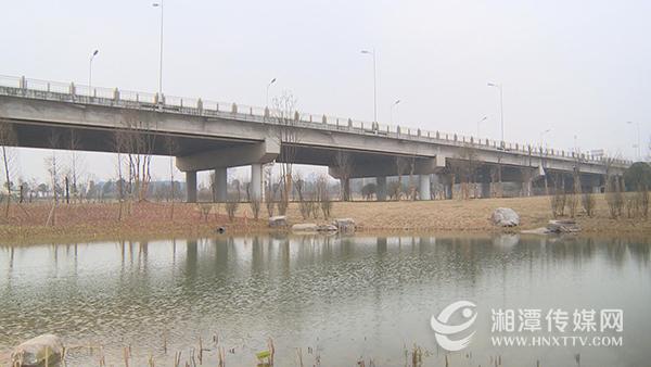 湘潭芙蓉大桥北桥头公园亮相 集生态休闲于一体