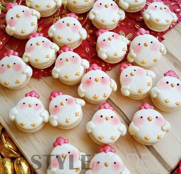 如此可爱的烘焙动物饼干